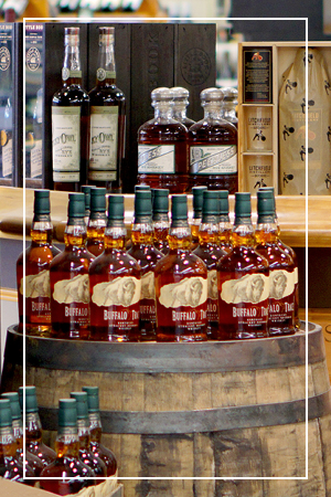 Caraluzzi's Wine and Spirits Bourbon Selection